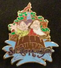 2007 MAGIC KINGDOM SPLASH DOPEY AND GRUMPY WDW MYSTERY ATTRACTION DISNEY PIN