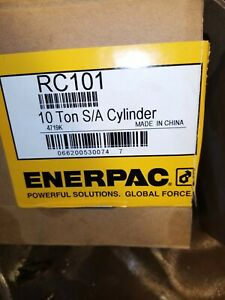 Enerpac Rc101 hydraulic cylinder ram good used condition