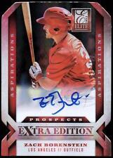 ET 2013 Elite Extra Edition Signature Aspirations #193 Zach Borenstein #026/100