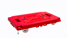 Adco 1 case of 6 each Gas Station C-Store Jumbo Mule Cooler Dolly 09973 Cart