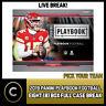 2019 PANINI PLAYBOOK FOOTBALL 8 BOX (FULL CASE) BREAK #F370 - PICK YOUR TEAM