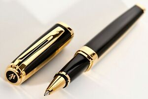 NEW ,WATERMAN EXCEPTION BIG NIGHT AND DAY GOLD, Rollerball Pen.