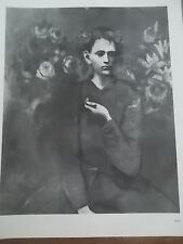 POST IMPRESSIONISTA B / W STAMPA PABLO PICASSO BOY CON TUBO 1905