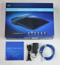Linksys E1200 N300 Wireless-N WiFi Router