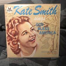 Kate Smith Sings God Bless America Vinyl LP Philadelphia Flyers