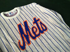 NEW YORK METS BRAND MLB NEW SWEATER SIZE MED. BY CLIFF ENGLE (VINTAGE LAST ONE)