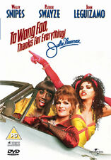 DVD:TO WONG FOO  THANKS FOR EVERYTHING - NEW Region 2 UK