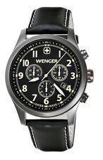 WENGER Swiss Army Terragraph Chrono mens Watch 0543 $425 - BRAND NEW