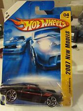 Hot Wheels '69 Ford Mustang 2007 New Models Black Gift Series