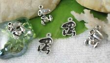 60pcs Tibetan Silver snoopy dog charms SM0980