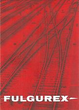 Catalogue FULGUREX  SHINOHARA + tarif  1989 train Gleismaterial matériel voies