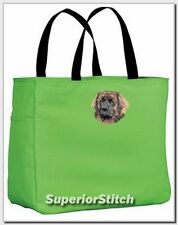 Leonberger embroidered essential tote bag Any Color