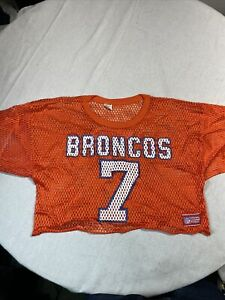 Vintage 90s John Elway Denver Broncos Champion Football Practice #7 Jersey