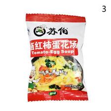 Instantáneo Sopa de verduras comida rápida diferentes gustos chino deliciosa comida sana