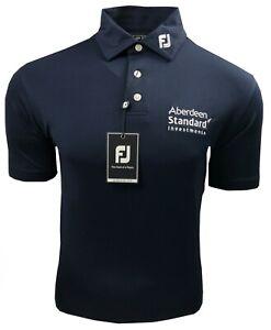 Footjoy FJ Golf Polo Shirt - SMALL - Scottish Open Aberdeen Standard Investments