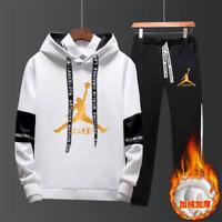 NEW Mens Michael Air 23 Jordan Tracksuit Hoodie and Pants Men Sportswear