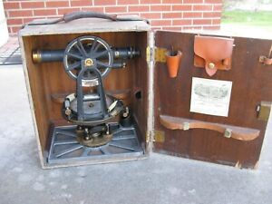 Antique Keuffel & Esser Model 5060 Engineers Transit Serial # 52970