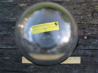 "10"" TELEDYNE BENTHOS DEEP SEA GLASS SPHERE Research Instrument Flotation FLOAT"