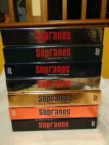 THE SOPRANOS Complete DVD Set 28 Discs & 1 Behind the Scenes Documentary