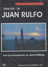 DVD - Espacios De Juan Rulfo NEW Coleccion Memoria Historia FAST SHIPPING !