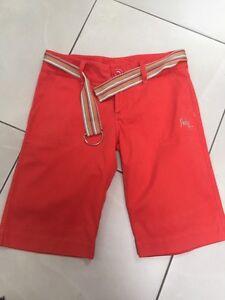 Hurley Ladies Shorts Papaya Long Belt