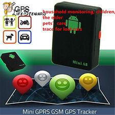 Mini A8 Time Car Kid Pet GSM/GPRS/GPS Global Locator Real Tracking Tracker Braw