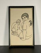 Rare Vintage 1960's Litho By David P Bradford Black Artist Samella S. Lewis #1