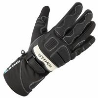 Spada Storm WP Waterproof Motorcycle Motorbike Touring Gloves Black - Sale