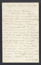Prince Edward, Duke of Kent and Strathearn Signed Letter Brussels 1819