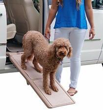 Pet Gear Travel Lite Bi-Fold Ramp for Cats/Dogs Lightweight/Portable Safety T...