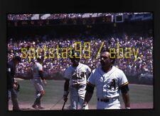 Rickey Henderson - Oakland Athletics A's - c1979 - Vtg 35mm Baseball Slide