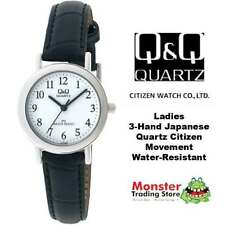 Q&Q Women's Adult Round Wristwatches