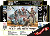 Master Box 35199 Skull Clan - New Amazons (Desert Battle Series) 1/35