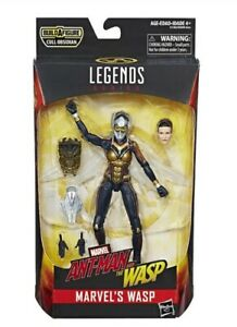 Marvel Legends Ant-Man & The Wasp Series Cull Obsidian BAF - Wasp Action Figure