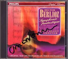 John Eliot GARDINER Signiert BERLIOZ Symphonie Fantastique CD Original Vers 1830