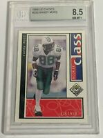 1998 UPPER DECK CHOICE RANDY MOSS #200 ROOKIE RC CLASS BGS 8.5 NM-MINT+ (DR)