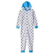 TY Beanie Boos Waddles One-Piece Thermal Pajamas Size 4-5 - FREE SHIPPING