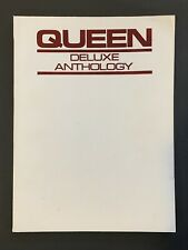 Queen Deluxe Anthology Songbook Piano Guitar Tab Vocal Score Song Book - RG