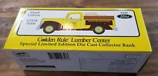 Diecast Liberty Classics Golden Rule Lumber 1940 Ford Model Toy Bank