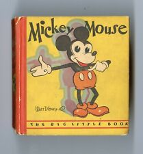 Mickey Mouse  Big Little Book #717 FN 6.0  First Printing  Rare!  Whitman  1933