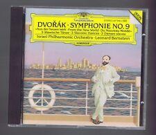 DVORAK CD SYMPHONIE # 9/ SLAVONIC DANCES/ LEONARD BERNSTEIN/ ISRAEL PHILHARMONIC