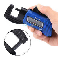 12mm Digital Thickness Gauge Meter Portable LCD Electronic Thickness Caliper