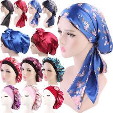 Womens Bandana Head Scarf Turban Pre-Tied Headwear Chemo Hat Tichel for Cancer