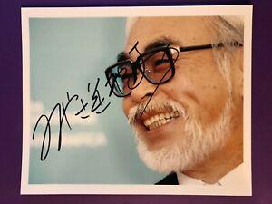 Hayao Miyazaki *Studio Ghibli* 20x25 cm Signiertes Foto. Autogramm / Autograph