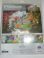 "JANLYNN  PLATINUM Counted Cross Stitch Kit -  CHAPEL OF HOPE 10.5"" x 6"""