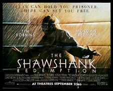 THE SHAWSHANK REDEMPTION ✯ CineMasterpieces SUBWAY HUGE MOVIE POSTER RARE 1994