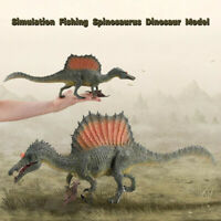 Larger Simulation Fishing Spinosaurus Dinosaur Model Figure Realistic Kids Toy B