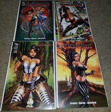 Zenescope Comic Grimm Fairy Tales Wonderland 1 NM+ A B C D Campbell Variant Keys