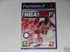 NBA 2K11 FOR PLAYSTATION 2 'NEVER BEEN OPENED'