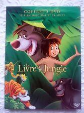 ★ Le livre de la Jungle 1 , 2 intrégrale ★ Coffret 2 DVD Walt Disney